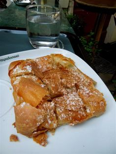 Mpougatsa a traditional custard pie