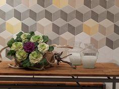 Vintage black tile trend: Kubik series by Natucer #tile
