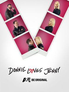 DONNIE LOVES JENNY starring Donnie Wahlburger and Jenny McCarthy-Wahlburger