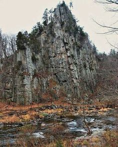 Eagle Rock in Pendleton County, West Virginia by Gary Brooks