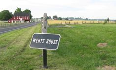 Site of the John and Mary Wentz Farm on the Gettysburg battlefield