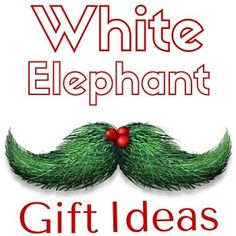 The official White Elephant Gift Exchange rules, along with some of the more popular variations. Also goes by the names Yankee Swap and Dirty Santa.