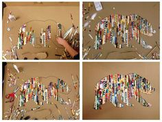 DIY Projects Pinterest | ... art: 5 Pinterest projects for moms & kids - DIY Boston - Boston.com
