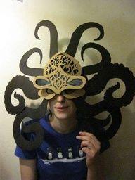 octopus costume pattern | Octopus Mask - halloween costume!?