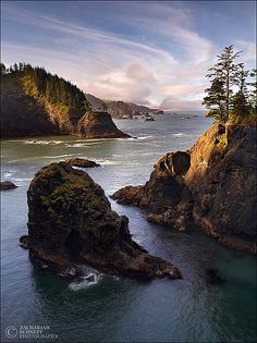 Oregon Coast photo by Zach Schnepf
