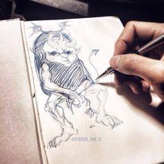 #臺灣#手繪#插畫#素描#evil#devil#journey#anatomy#caricature#artist#daily#doodle#taiwan#Kaohsiung#artwork#sketch#art#sketching#character#paint#graphic#painting#Graffiti#drawing#tattoo#monochrome#JC#banner#boy#lover