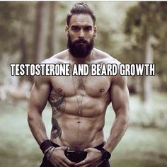 4 Steps to Increase Testosterone and Beard Growth at beardoholic.com