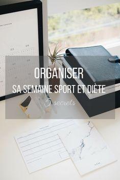5 astuces #organisation pour une semaine diète et sportive pour maigrir vite ! #blogfitness #maigrir #perdredupoids #rapidement #vite