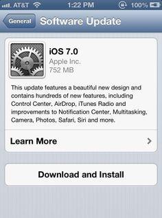 Hello Everyone: Happy iOS 7 Day