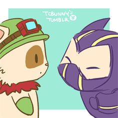 IN YER FACE TEEMO