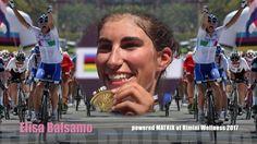 ELISA BALSAMO world champion of cycling juniors at MATRIX in Rimini Well...