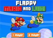 Flappy Mario and Luigi | juegos de mario bros - jugar online