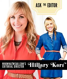 Exclusive interview with WhoWhatWear's  Hillary Kerr!