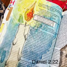 the light dwells with him. Scripture Art, Bible Art, Bible Verses, Scriptures, Book Art, Bible Drawing, Bible Doodling, Faith Bible, My Bible