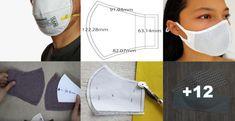CORONAVIRUS: Aprende hacer tapaboca casera paso a paso archivos - IDEAS EN MINUTOS Tapas, Diy Face Mask, Face Masks, Adidas Stan Smith, Singer, Cool Stuff, Sewing, Pattern, Sneakers
