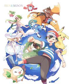 Gen 1 Pokemon, Pikachu, Pokemon Comics, Pokemon Fan Art, Cute Pokemon, Pokemon Sketch, Pokemon Moon, Sun Moon, Coaches