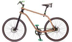 stanislaw ploski: bonobo bent plywood bike
