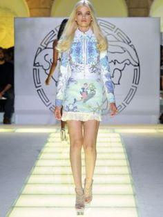 Versace   SS 2012