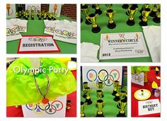 Olympic Party Ideas- Olympic theme party @frostedevents