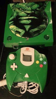 Playstation, Xbox, Custom Consoles, Nintendo News, Sega Dreamcast, Retro Games, Game 4, Made Video, Incredible Hulk