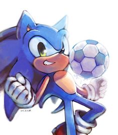 Football by Hanybe on DeviantArt Sonic The Hedgehog, Shadow The Hedgehog, Sonic And Amy, Sonic And Shadow, Sonic Team, Japanese Video Games, Sonic Franchise, Pokemon, Sonic Fan Characters