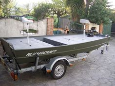 custom jon boat - Google Search