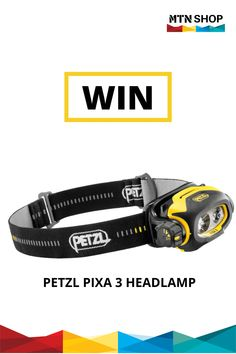 If you would like to be in with a chance to win a Petzl PIXA 3 Headlamp, head over to our Facebook page for all of the competition details.  #petzl #competition #pixa3 #headlamp
