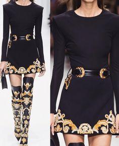 Fashion Hacks For Men a o Versace / Nemodno Look Fashion, Fashion Details, High Fashion, Fashion Design, Steampunk Fashion, Gothic Fashion, Couture Fashion, Runway Fashion, Womens Fashion
