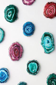 DIY Agate Cookies // alanajonesmann.com