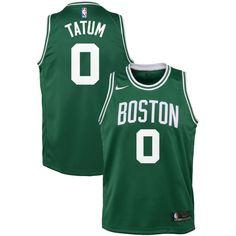 21b16845089 Jayson Tatum Boston Celtics Nike Youth Swingman Jersey Green - Icon Edition  Jayson Tatum, Nike