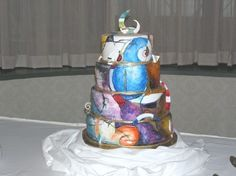 Picasso Wedding Cake