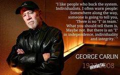 George Carlin #enfp