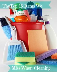 The owner of a professional cleaning service lists the 15 most over-looked places when cleaning. Household Cleaning Tips, Cleaning Checklist, House Cleaning Tips, Deep Cleaning, Spring Cleaning, Cleaning Hacks, Diy Cleaners, Cleaners Homemade, Commercial Cleaners