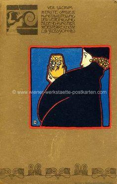 Litho Ver Sacrum # 3 Kolo Moser 1898