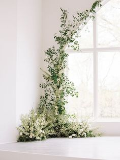 Wedding Flowers - A Modern, Floral-Filled Wedding at Legacy Acres Wedding Ceremony Flowers, Winter Wedding Flowers, Wedding Flower Arrangements, Flower Bouquet Wedding, Spring Wedding, Floral Wedding, Bridal Bouquets, Wedding Aisles, January Wedding