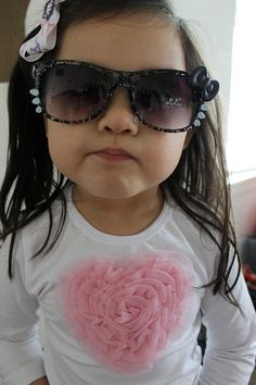 Hello Kitty Inspired Sun glasses in red pink by BlackfeetMommy, $10.00