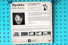 "Album cover art for my Epokka 7"" jazz music. By Koldo Barroso.  #album #albumcover  #retro #vinyl #midcentury #midcenturymodern #illustration #art #retrostyle #cartoons #jazz"