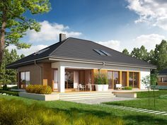If you planning to have small house , you must see this Single storey inspirational house + plans
