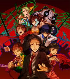 Persona 4 - The Shadows