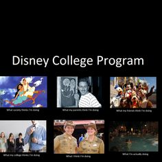 Disney College Program: I want to do it so bad.