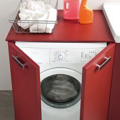Atlantic Waschmaschinenschrank für Badmöbel für die Badmöbel per i mobili bagno della collezione Atlantic