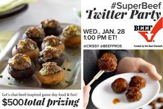 Join Us for the #SuperBeef Twitter Party 1/28 at 1 pm ET! - Virtually Yours