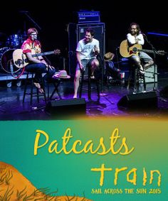 nformative, fun, and downright hilarious… that's a Patcast! There are no earbuds required for this live podcast recording with Pat Monahan and friends. Who knows what special guest may stop by? #patcast #bahamas #sailacrossthesun #train #traintheband #livemusic #sxmliveloud #sixthman #cruise #vacation #beach #norwegiancruiseline #themedcruise #music #mermaid #goodtimes #keywest #greatstirrupcay #valentinesday