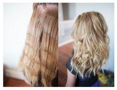 Sam Villa texture iron volume curls