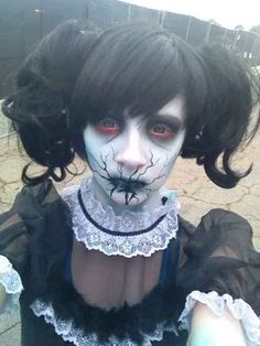 33 maquillajes completamente escalofriantes para probar este Hallowen