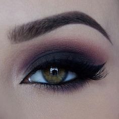 Dramatic smokey Used: @loraccosmetics Pro palette eyeshadows in Black (lid), Mauve, Sable (crease), Purple eyeshadow from @bhcosmetics 120 color palette, lashes are @ardell_lashes in Demi wispies, eyeliner is from @anastasiabeverlyhills in Jet, Dipbrow and brow powder duo in Dark Brown #dramatic#eye#makeup#anastasiabeverlyhills#anastasiabrows#lorac#bhcosmetics#makeupartist#makeupartistsworldwide#dressyourface#vegas_nay#wakeupandmakeup#inspiration