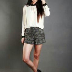 Littleminx.co.za Cream Shirt, Chiffon Shirt, New Trends, Short Dresses, Womens Fashion, Shirts, Short Gowns, New Fashion, Women's Fashion