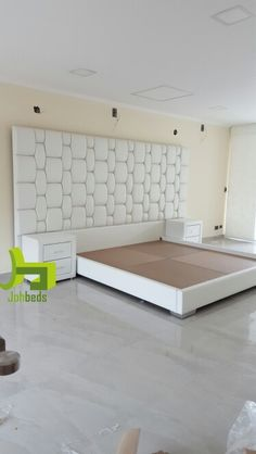 Most Design Ideas Double Bed Design Pictures, And Inspiration – Modern House Bed Headboard Design, Bedroom Bed Design, Bedroom Furniture Design, Modern Bedroom Design, Headboards For Beds, Bed Furniture, Home Bedroom, Bed Designs Pictures, Double Bed Designs