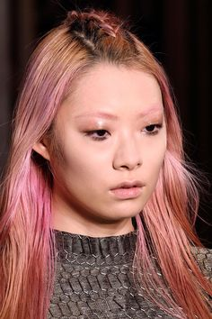 Pin for Later: Runway-Ready Rainbow Hair Proves the Trend Is Totally Chic Felder Felder Fall 2016