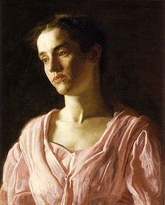 Thomas Eakins I have fond memories of going to the Philadelphia Museum of art and Staring at Thomas Eakins paintings. So inspired!